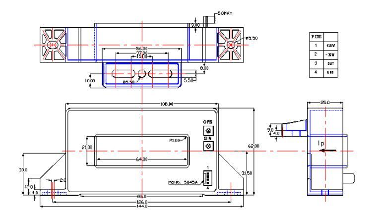 lfa-b52开环型霍尔电流传感器