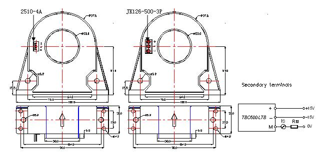 lfq-b60系列霍尔电流传感器